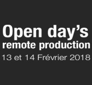Open day's remote production 2018